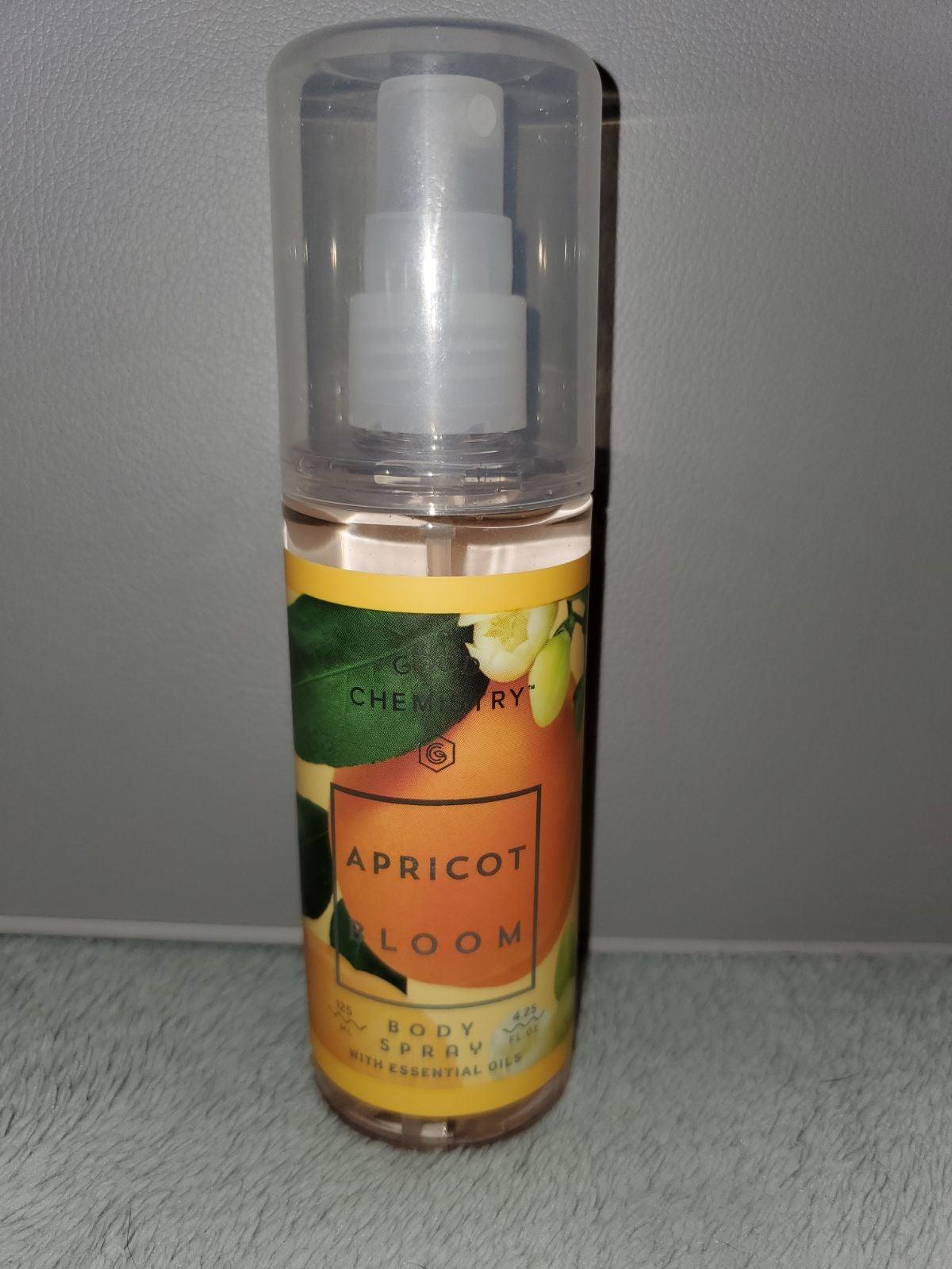 Good chemistry apricot bloom body spray