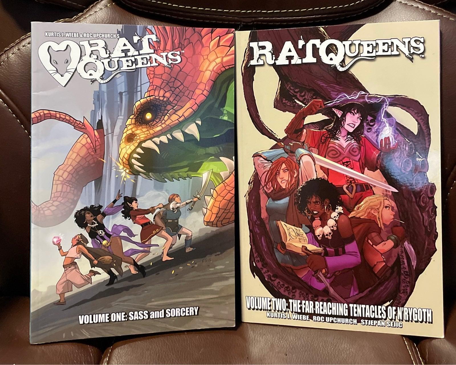 Rat Queens Comic Book Bundle