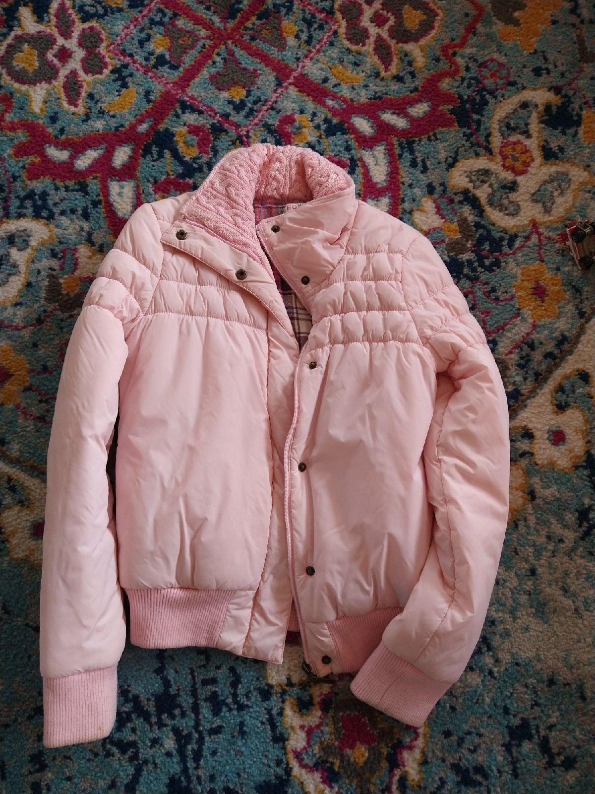 Roxy pink puffer Jacket