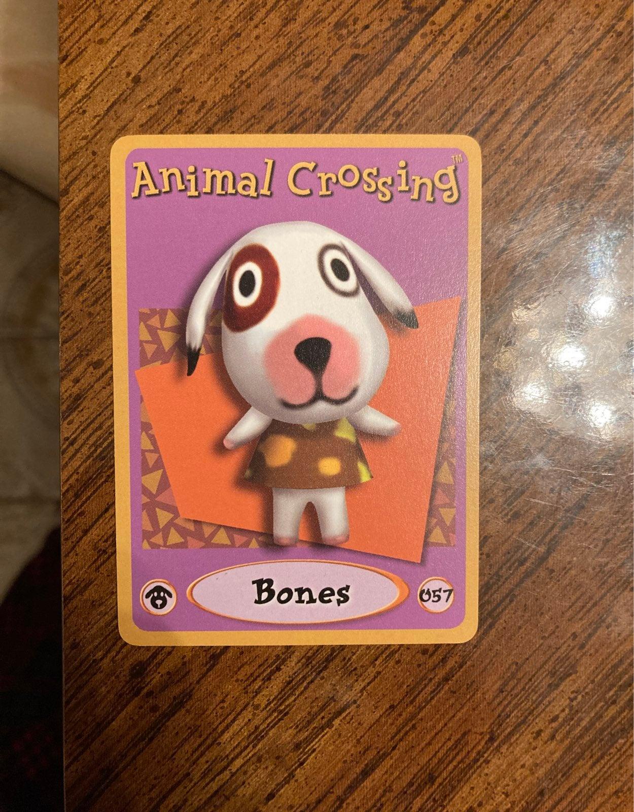 Animal Crossing E Reader Card