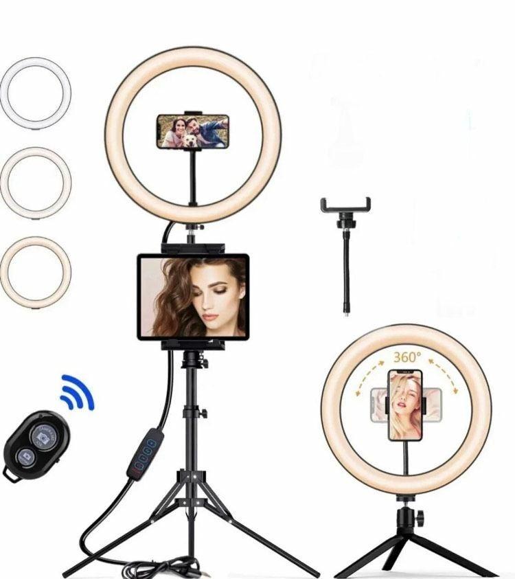 """10"""" Hyper Ring Light for Selfies"""