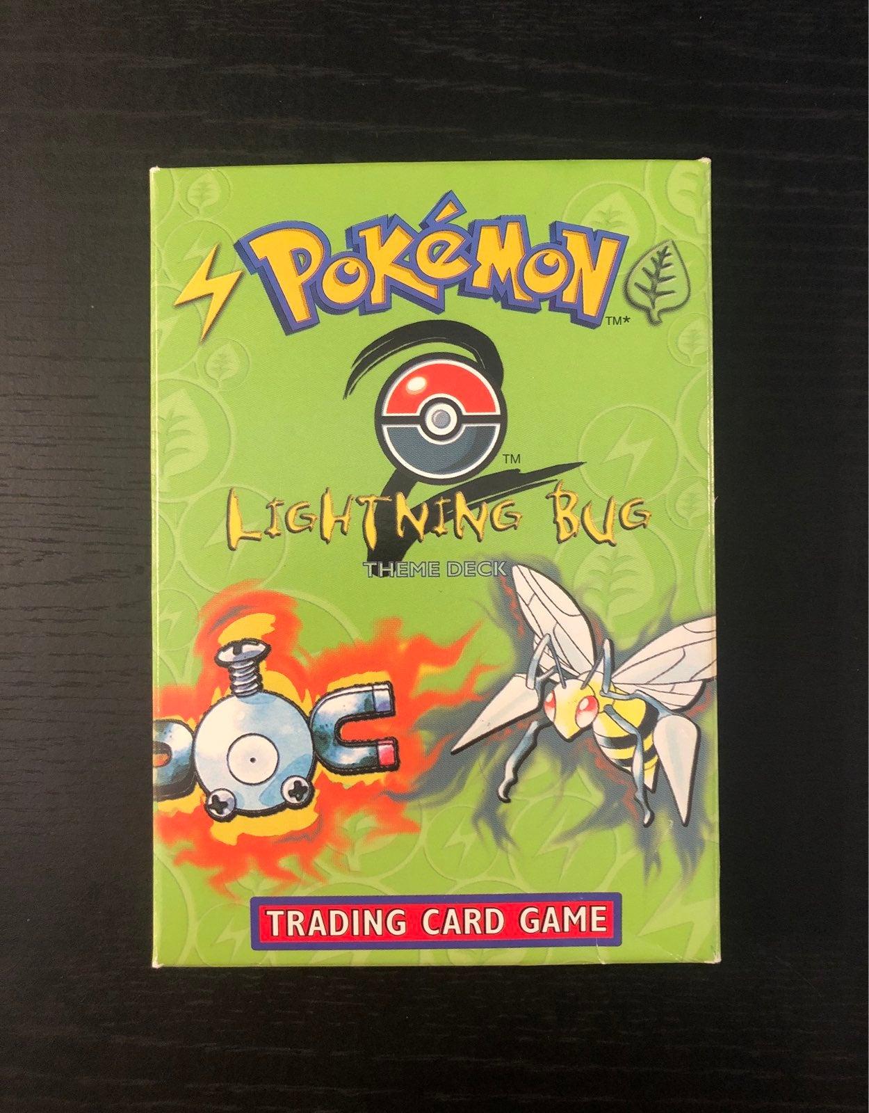 Vintage Pokemon theme deck box