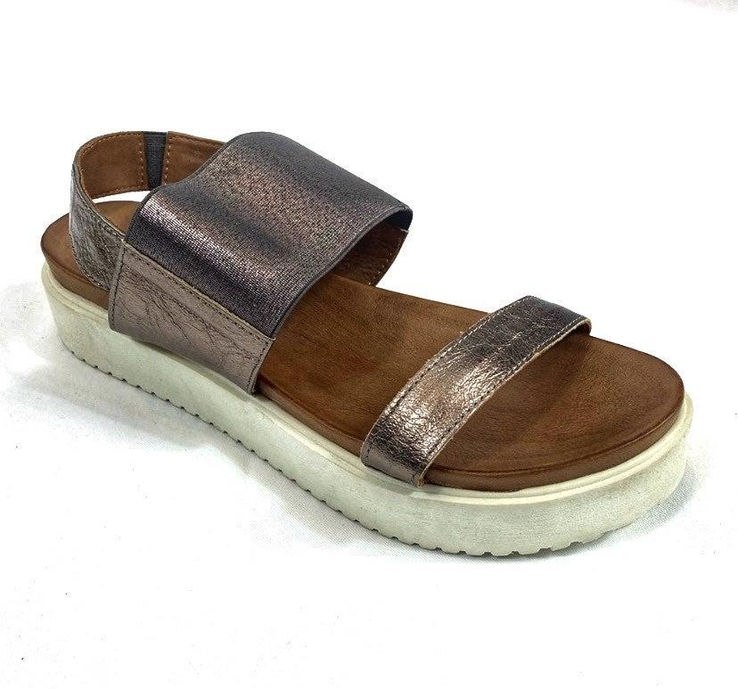 Miz Mooz Womens Platform Sandal 10.5