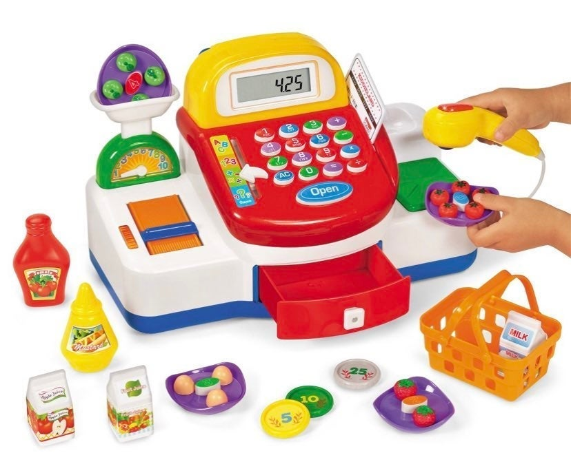 Lakeshore Play & Learn Toy Cash Register