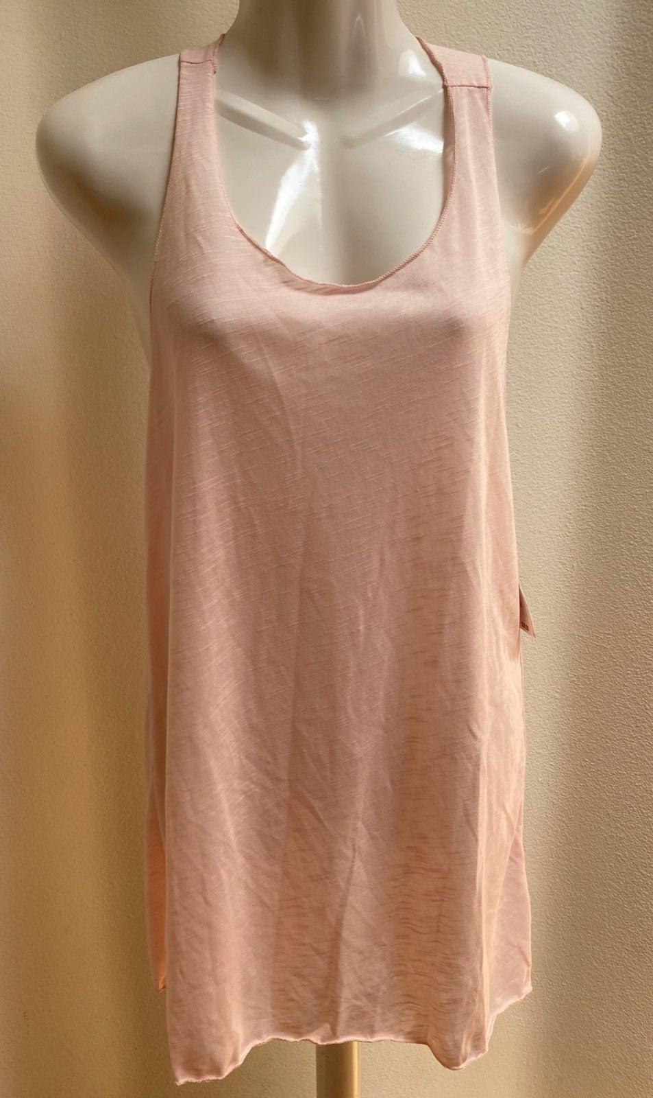 Miken Pink Racerback Cover-Up Dress Smal