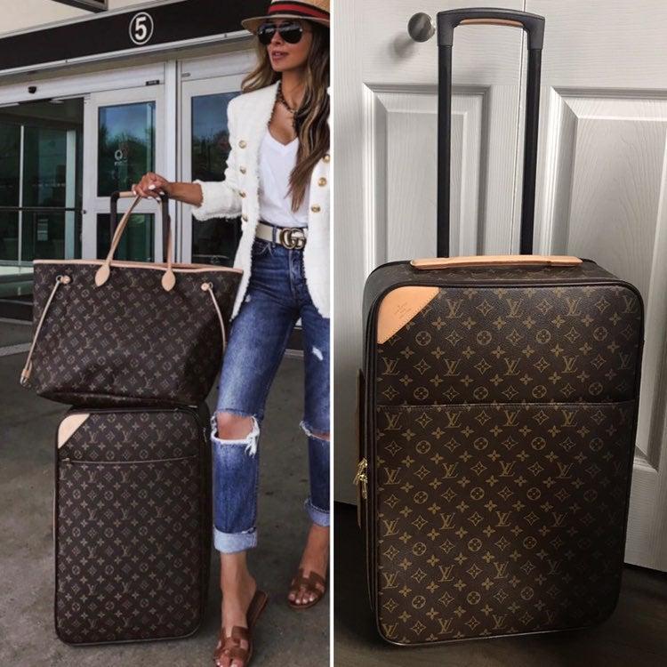 $3,750 Louis Vuitton Pegase 60 Luggage