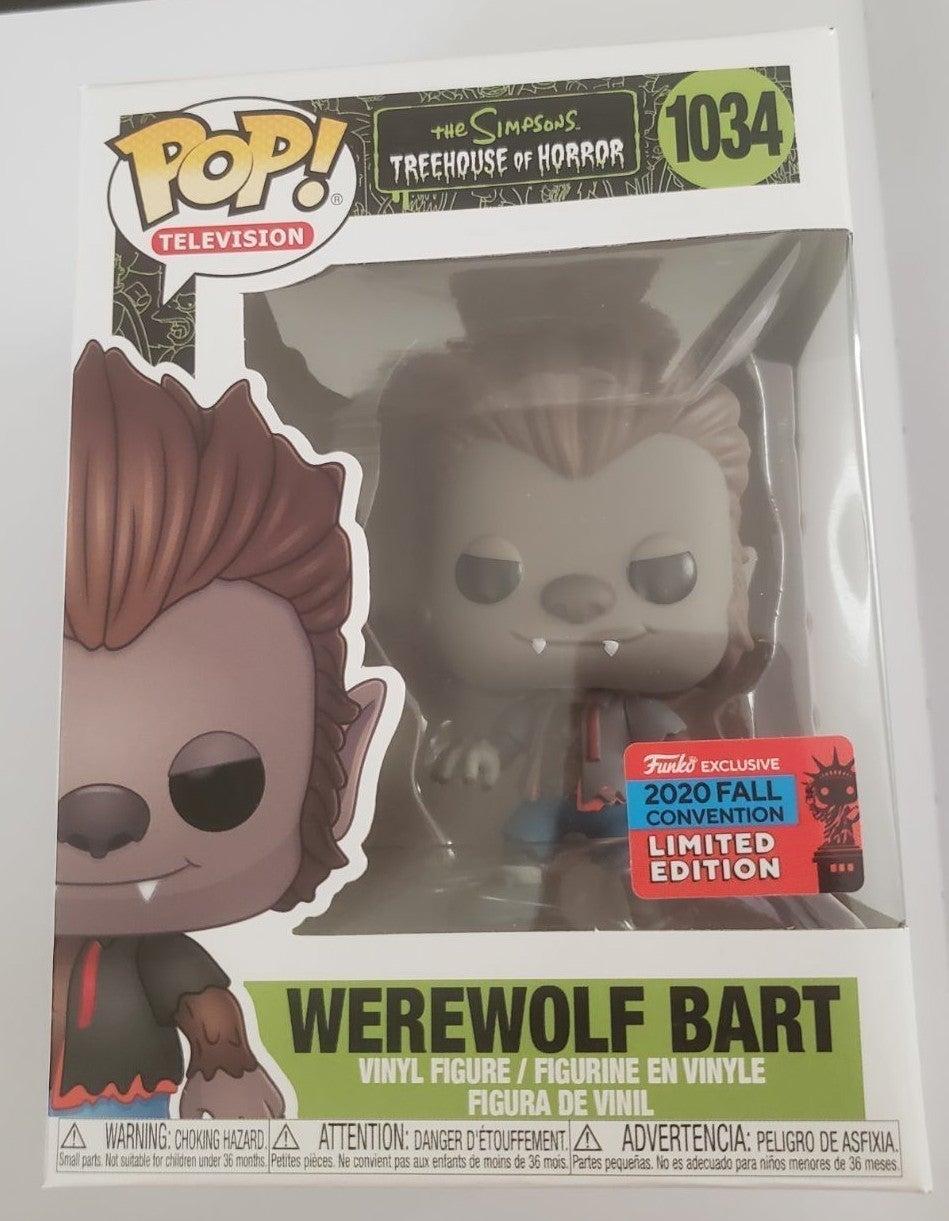 New werewolf Bart Simpson NYCC 2020