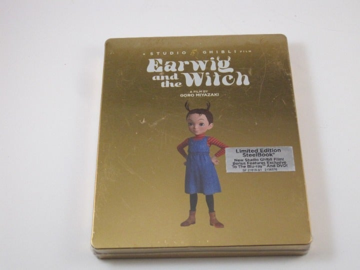 EARWIG AND THE WITCH Sealed Steelbook
