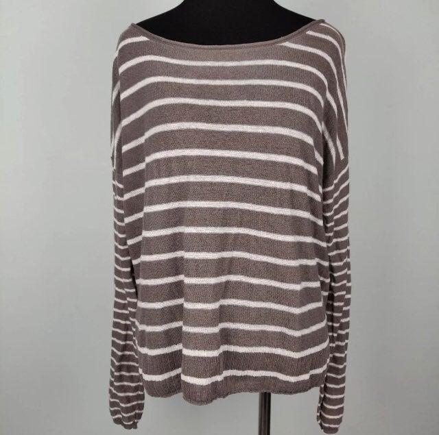 Vince 100% Linen Sweater Size M