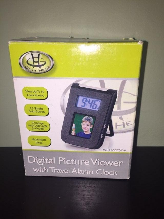 2/$20 Didgital Picture Clock
