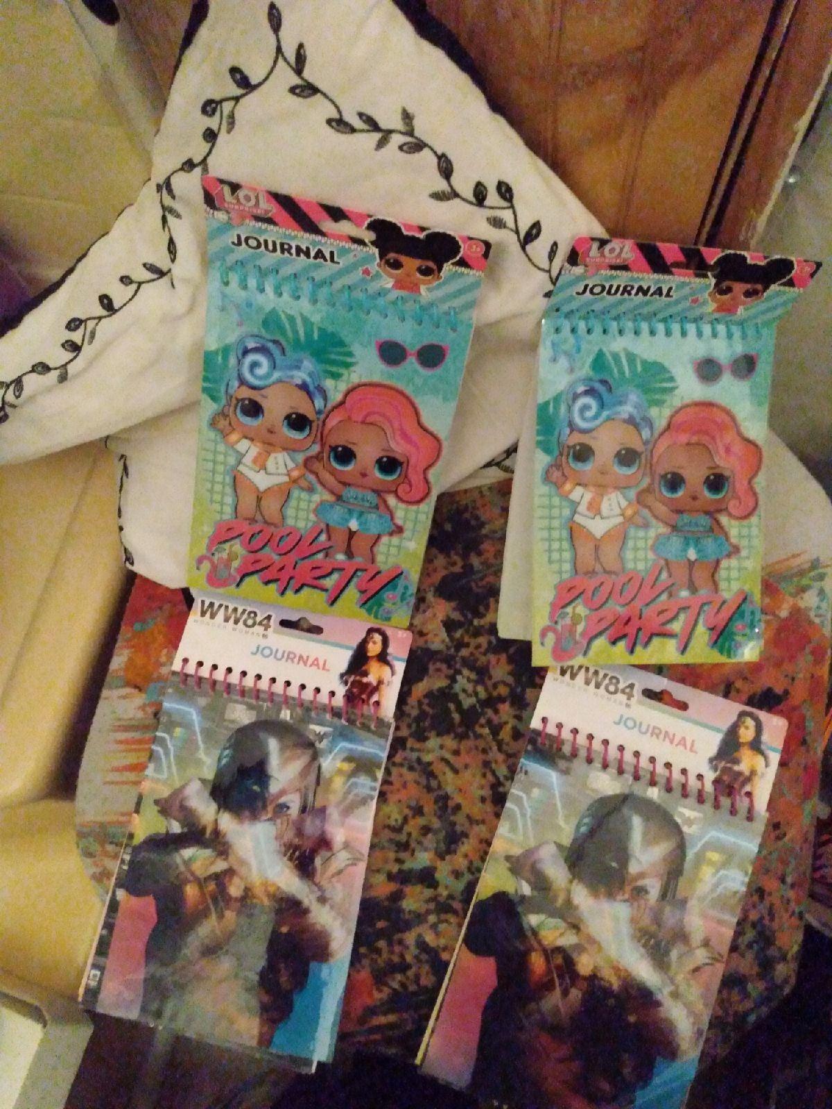 LOL Surprise & Wonder Woman Journal ×4