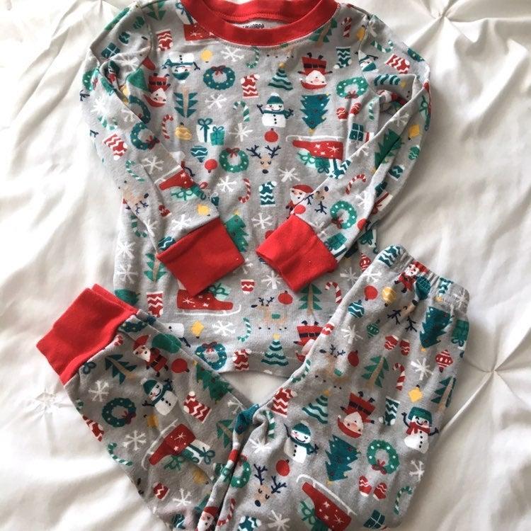 Gymboree Christmas Gymmies Pajamas
