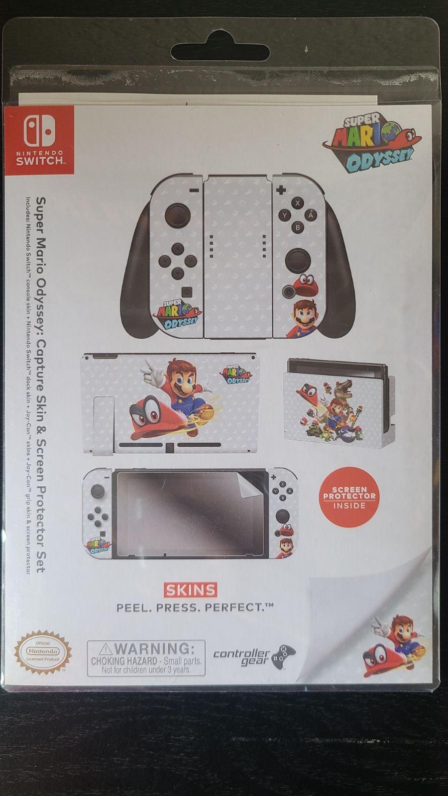 Mario Nintendo Switch skin