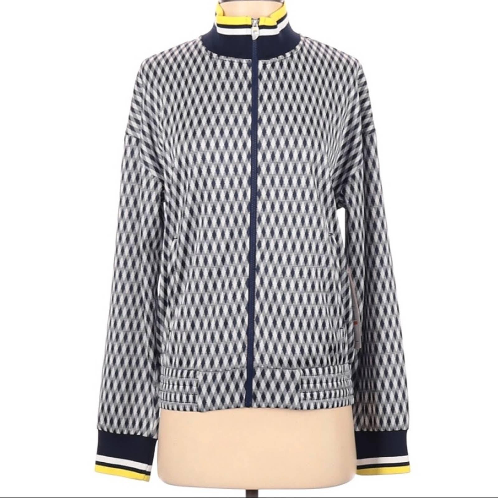 Fila Argyle Tennis Jacket NWT