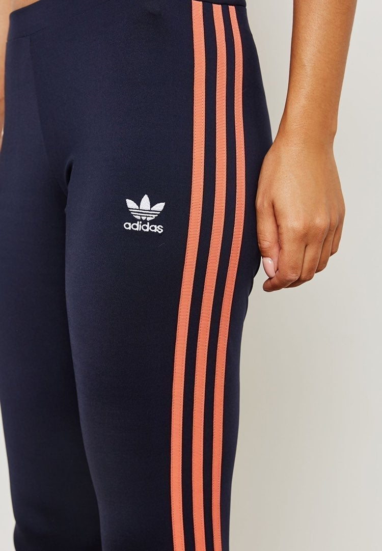 Adidas tights sport pants blue orange le