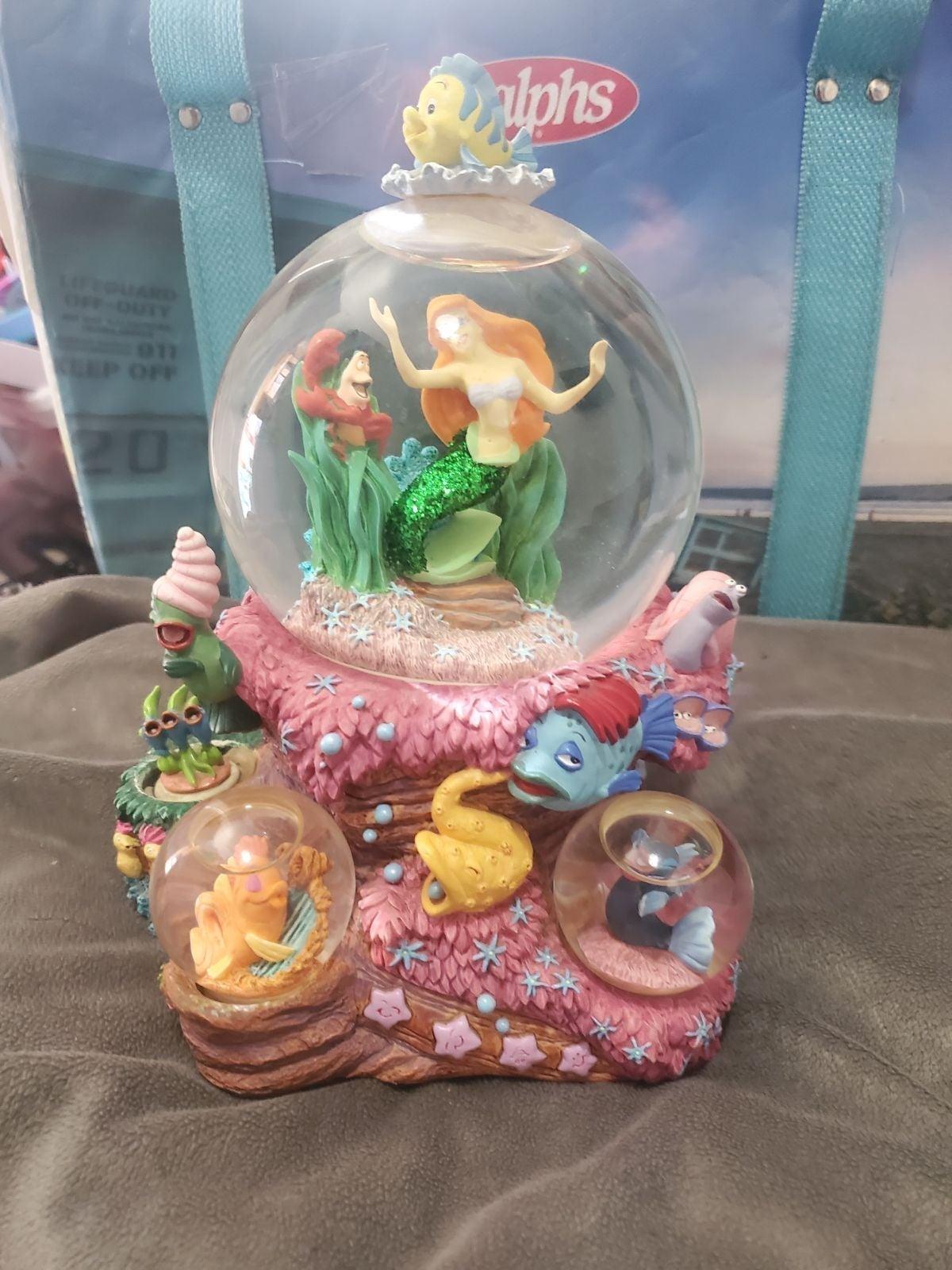 Snow Globe Mermaid