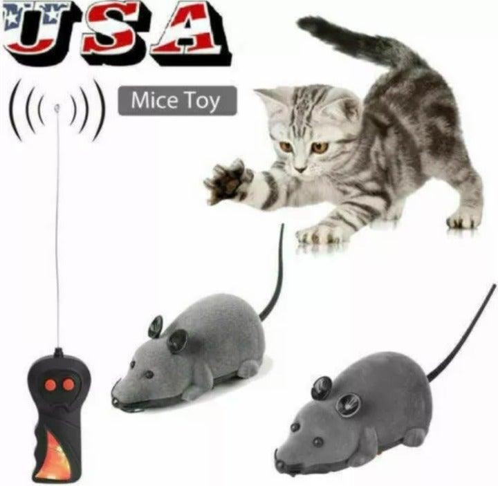 New Pet Dog Cat Remote Control Rat Toy