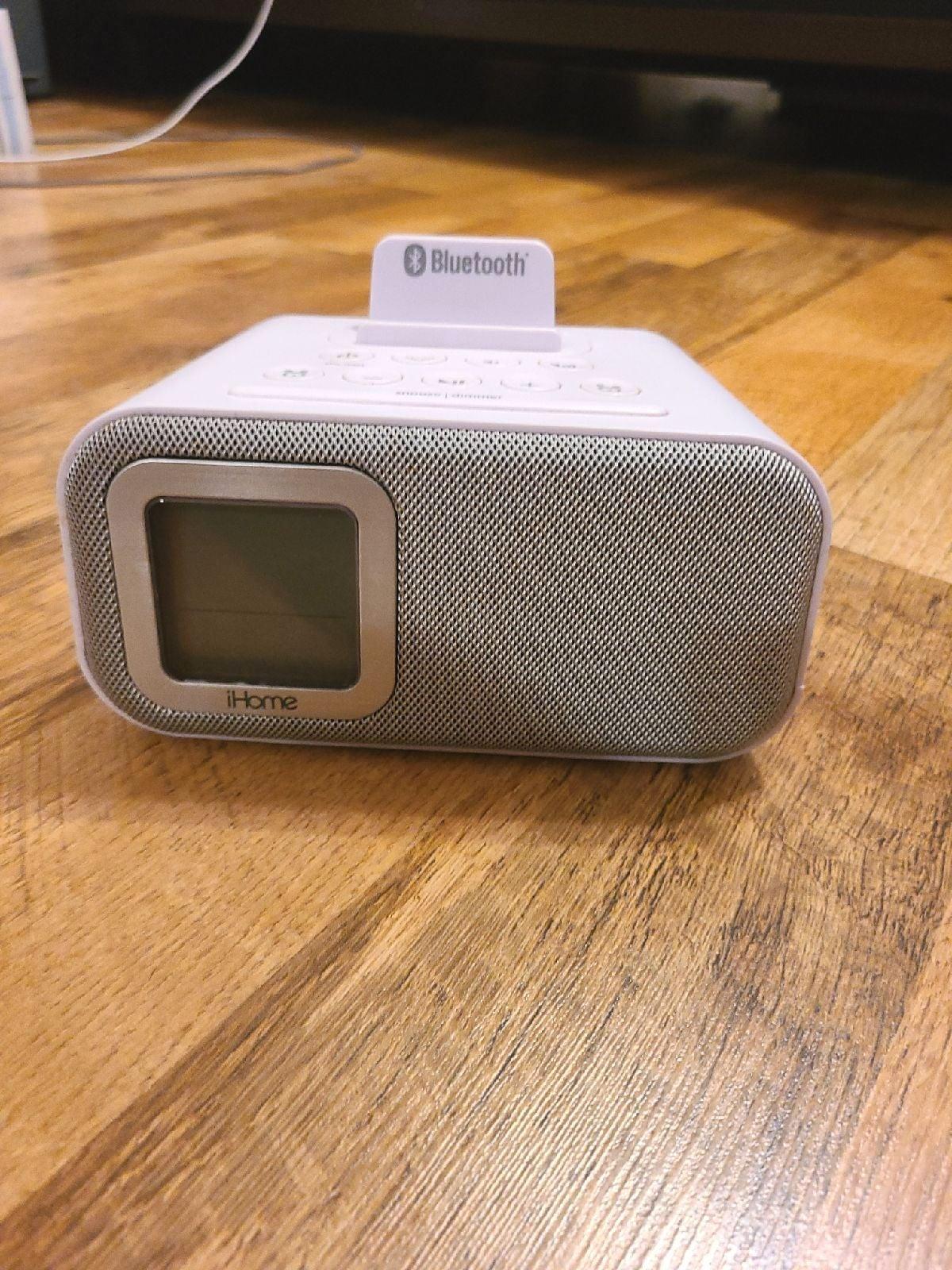 iHome Bluetooth Speaker and Alarm Clock