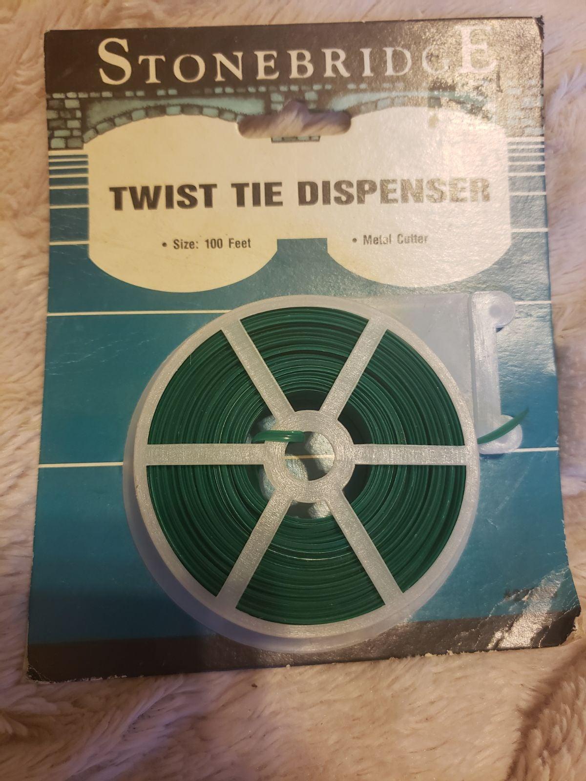 Stonebridge Twist Tie dispenser