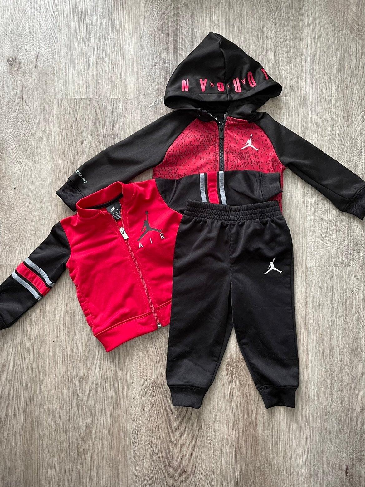 Boys 3 Piece Air Jordan Pants Set Sz 12M
