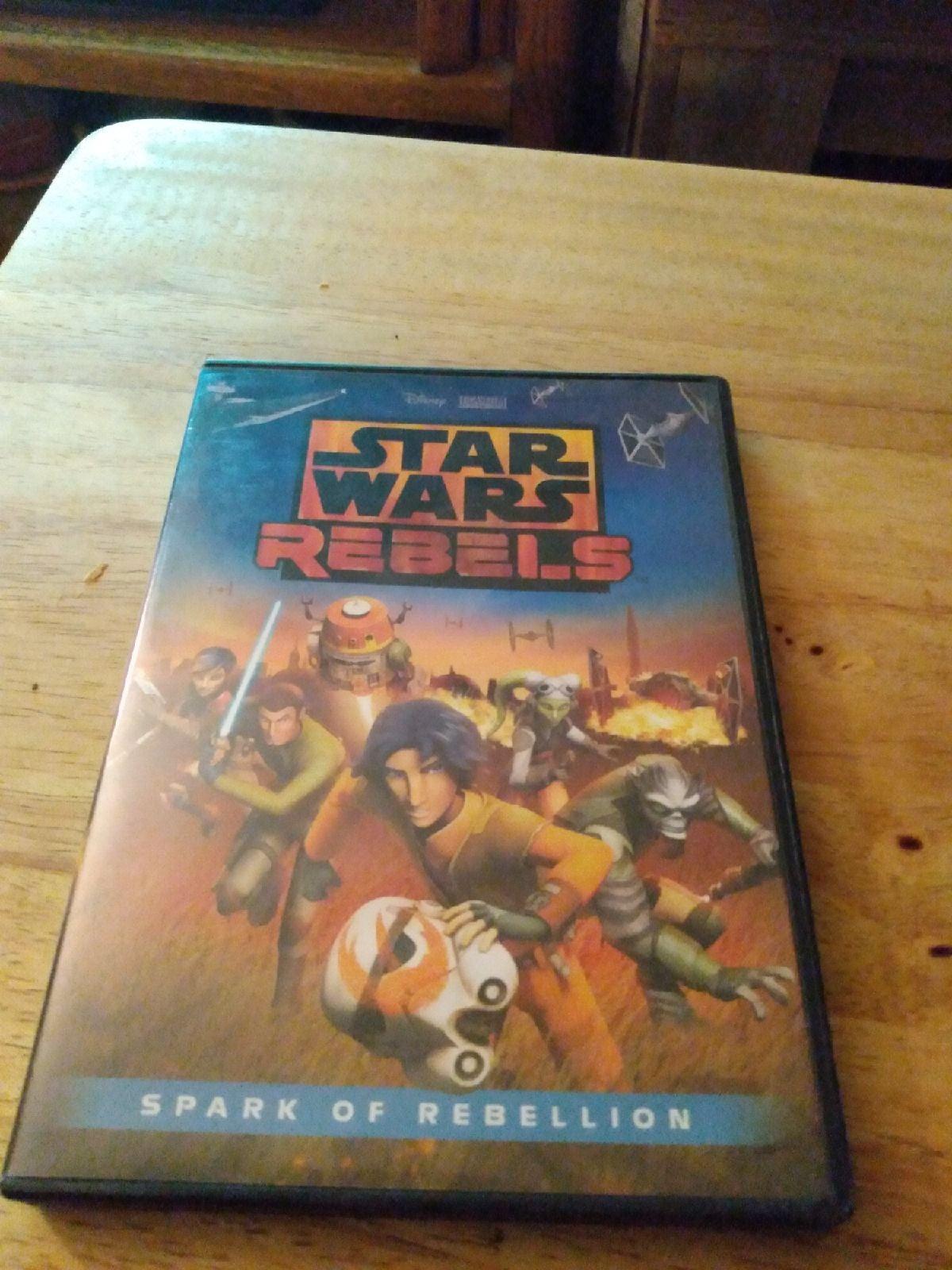 STAR WARS REBELS Spark Of Rebellion(DVD)