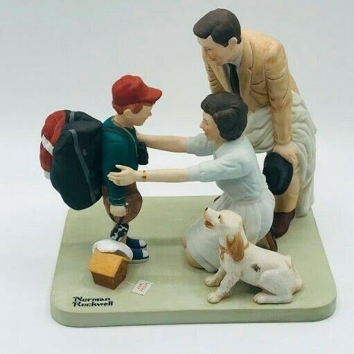 Vintage Norman Rockwell American Family