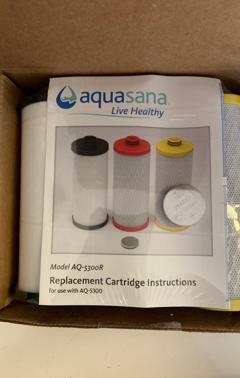 Aquasana water filer
