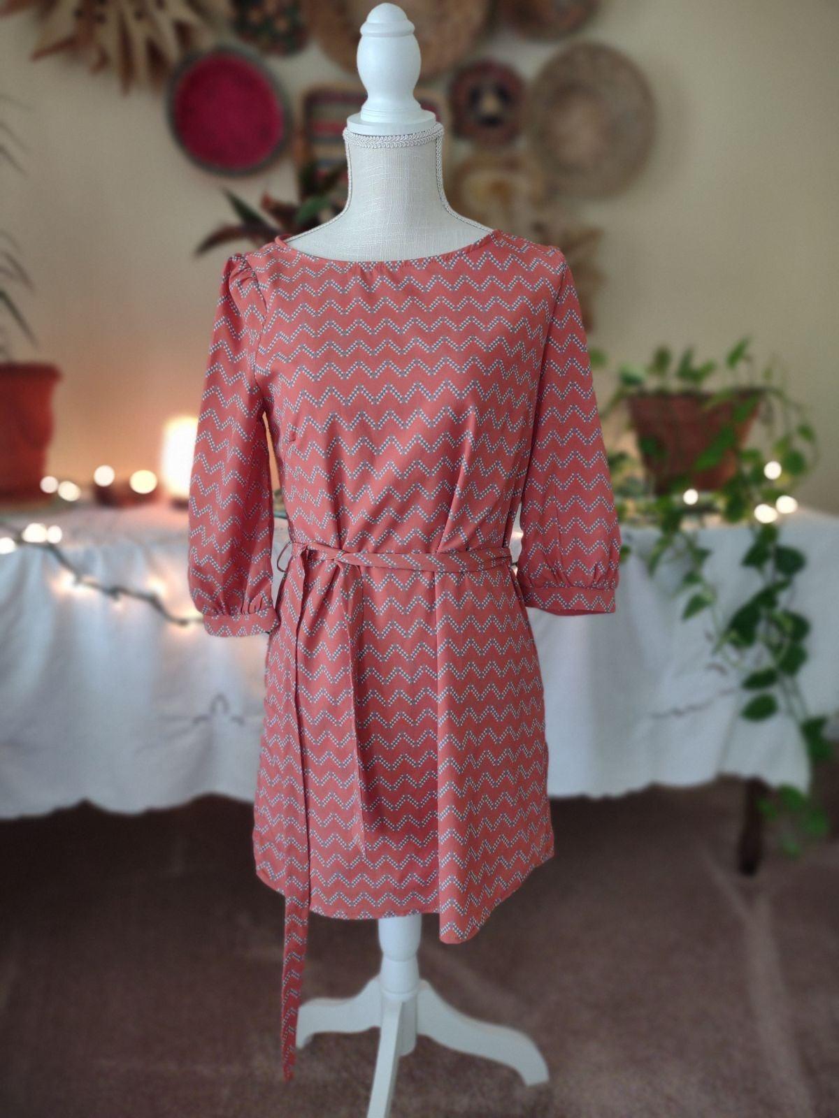Women's Pink Owl apparel Dress size smal