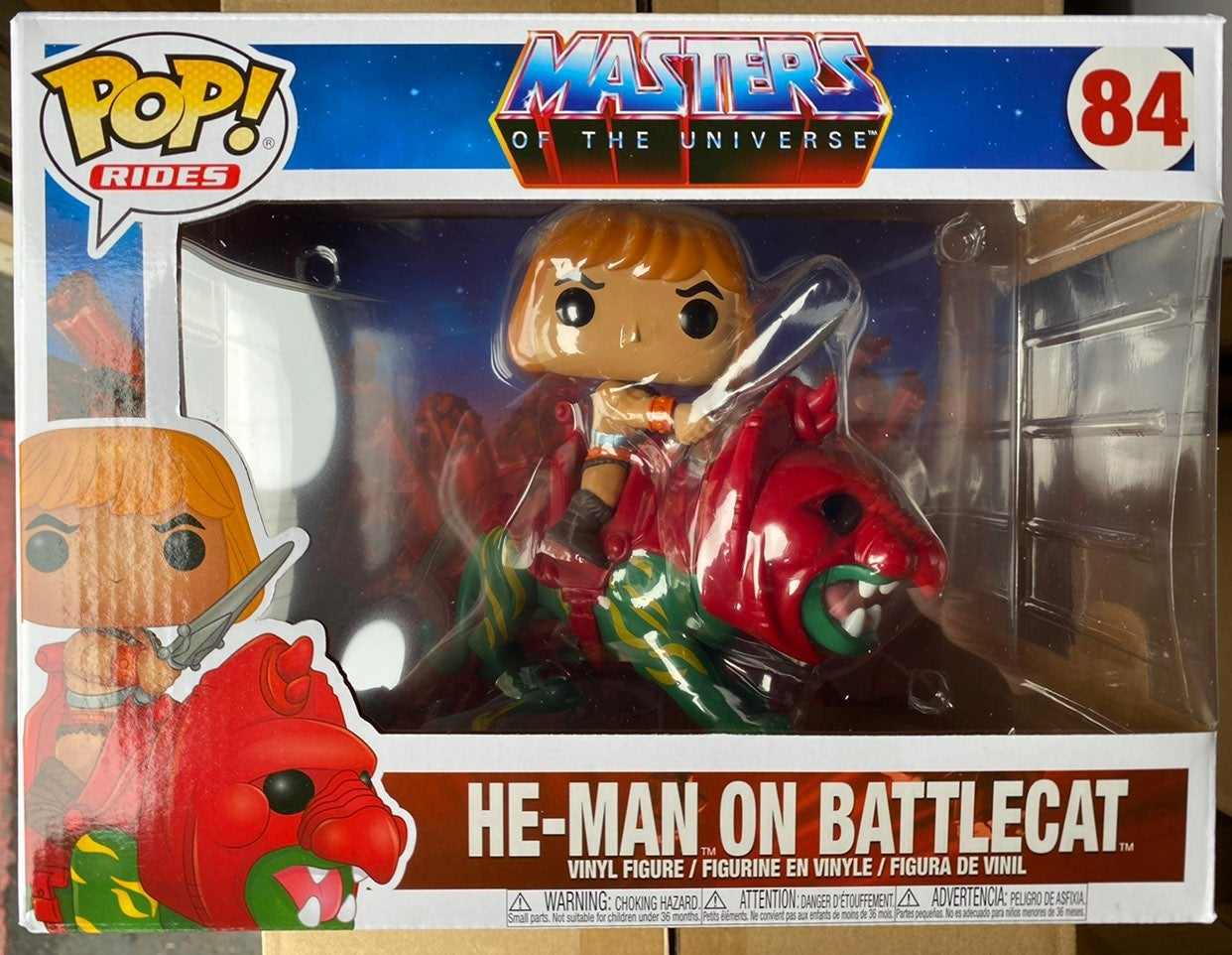Funko ride he man battlecat 84