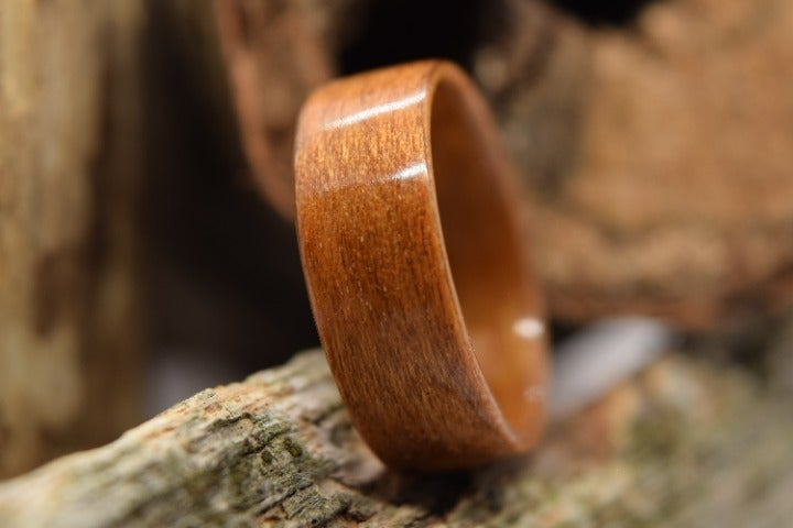 Bentwood Ring, Cherry Bentwood Ring, Size 6.5, Ready To Ship