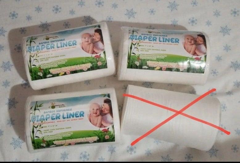 Cloth diaper liners