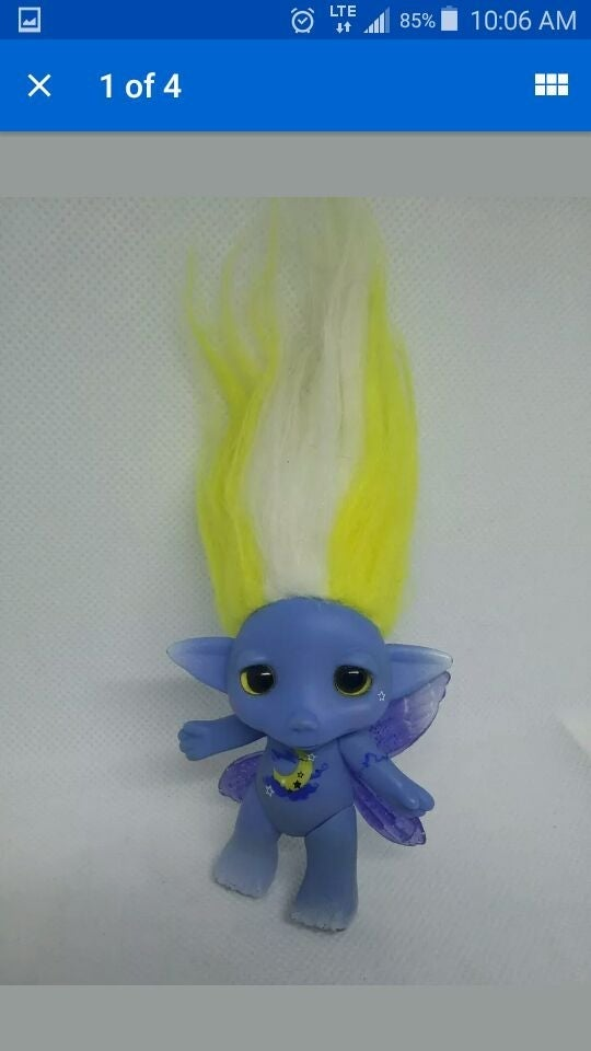 Zelf Troll Blue Moon Moonlight Figure