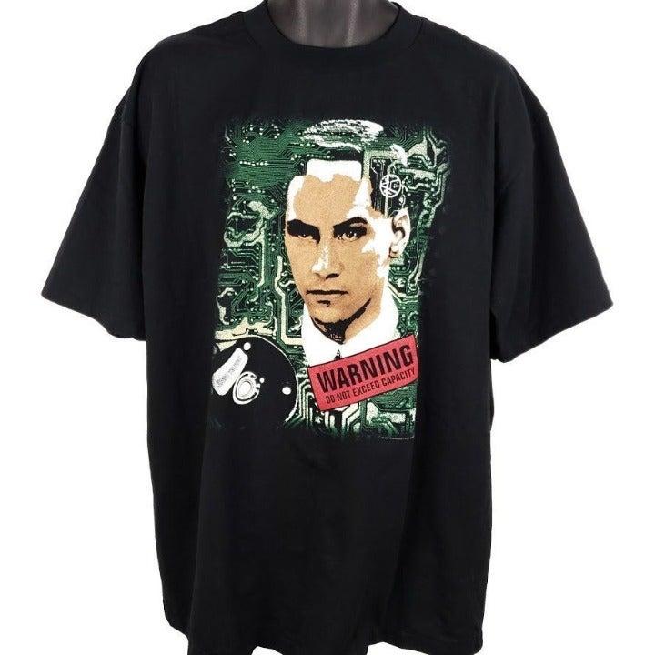 Johnny Mnemonic T Shirt Vintage 90s 1995