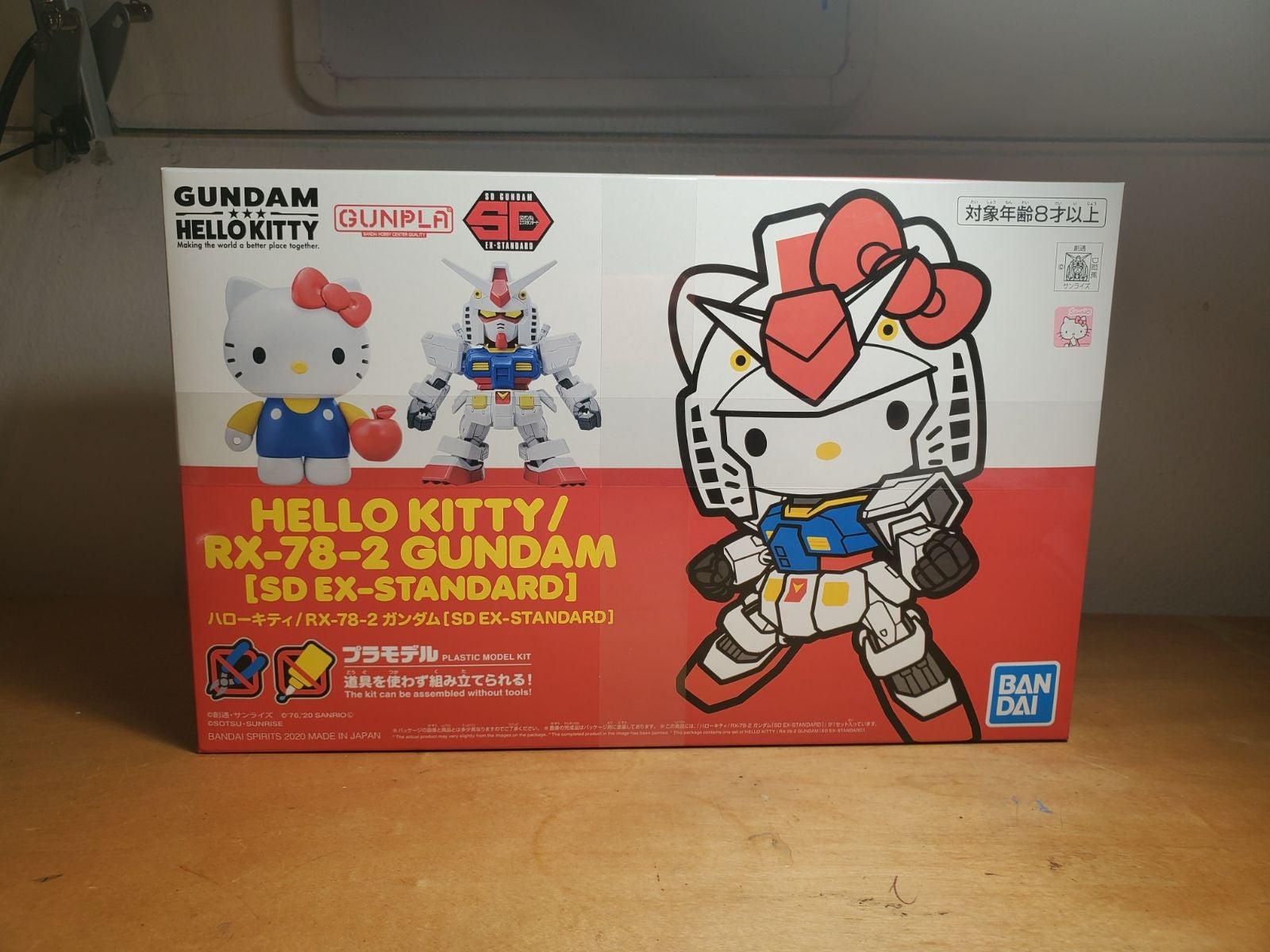 Hello Kitty Gundam SD EX-S RX-78-2 kit