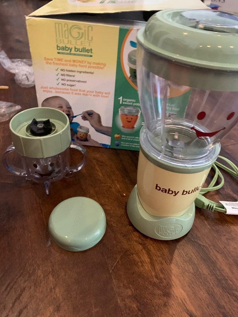 Magic baby bullet system blender