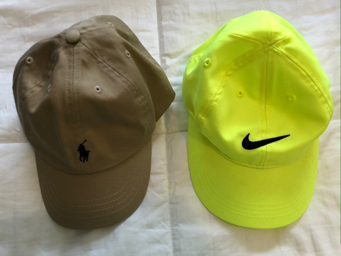 Nike and Ralph Lauren Polo (Two Hats)