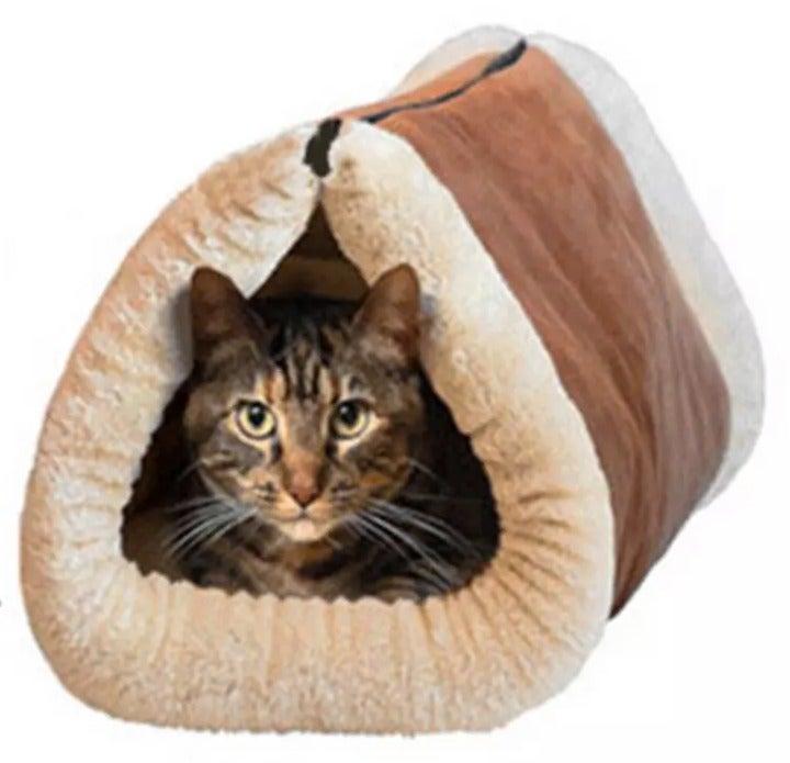 New Dog Cat Pet Cave Warm Soft Nest