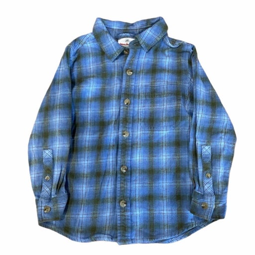 Hanna Andersson Plaid Flannel Button Up
