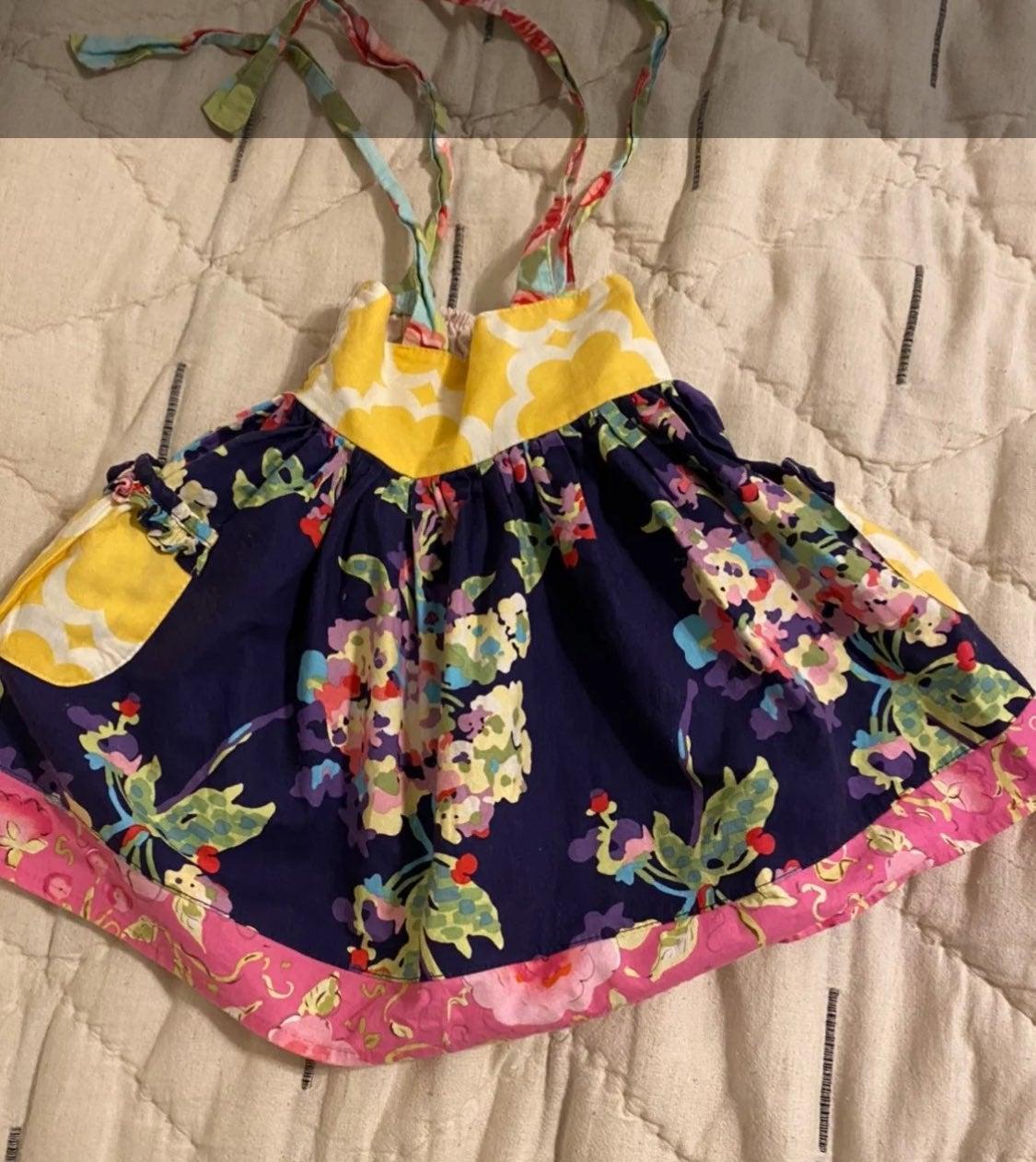 Sweet honey dress or tunic 18 months