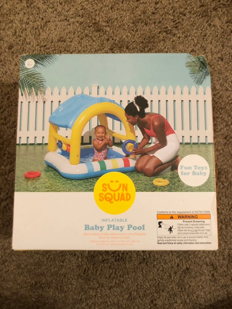 Inflatable Baby Play Pool