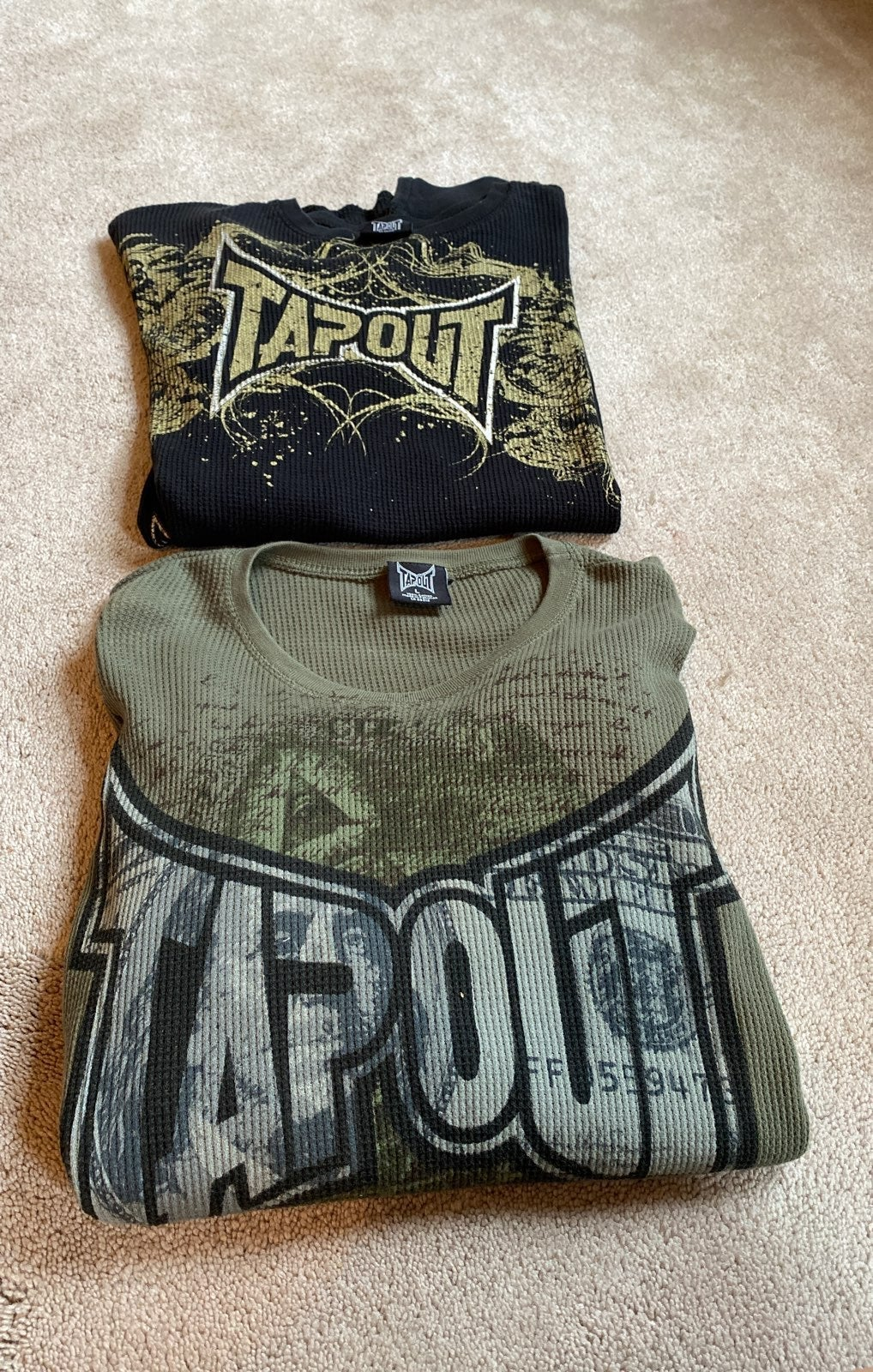 2 TapouT jerseys