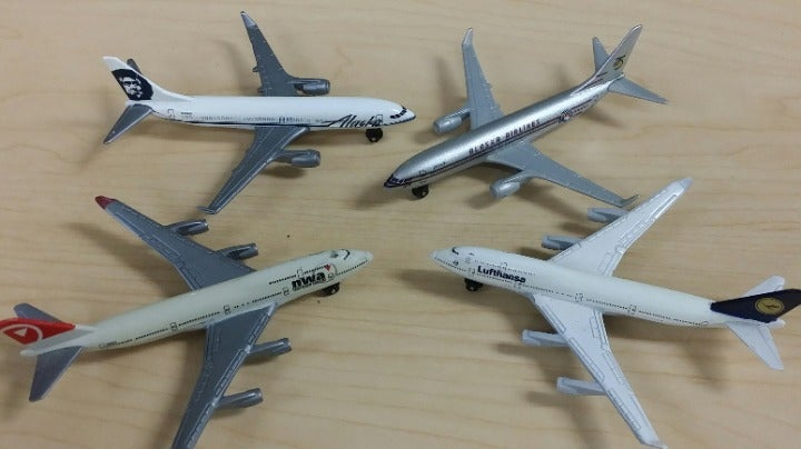 Matchbox Airliners