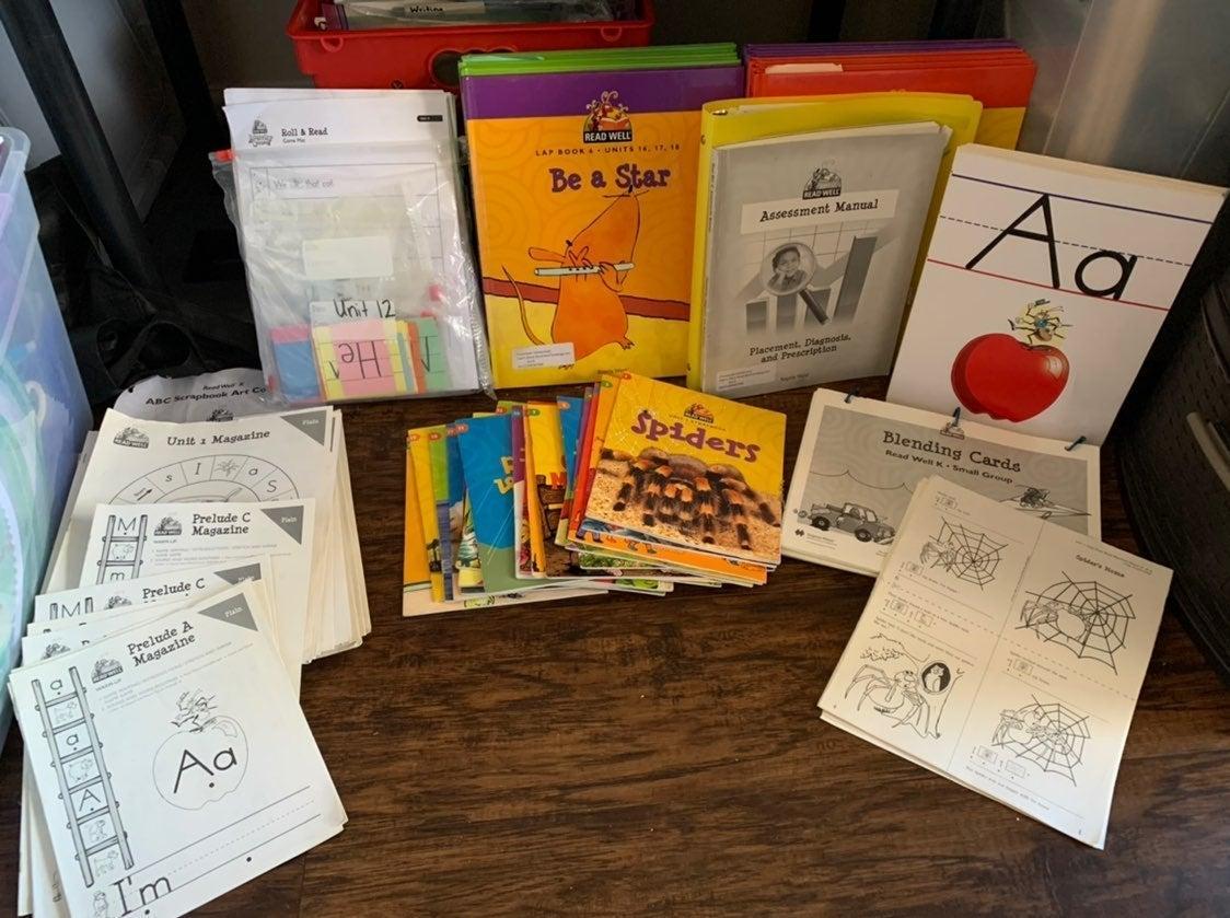 Read Well Kindergarten Reading Set