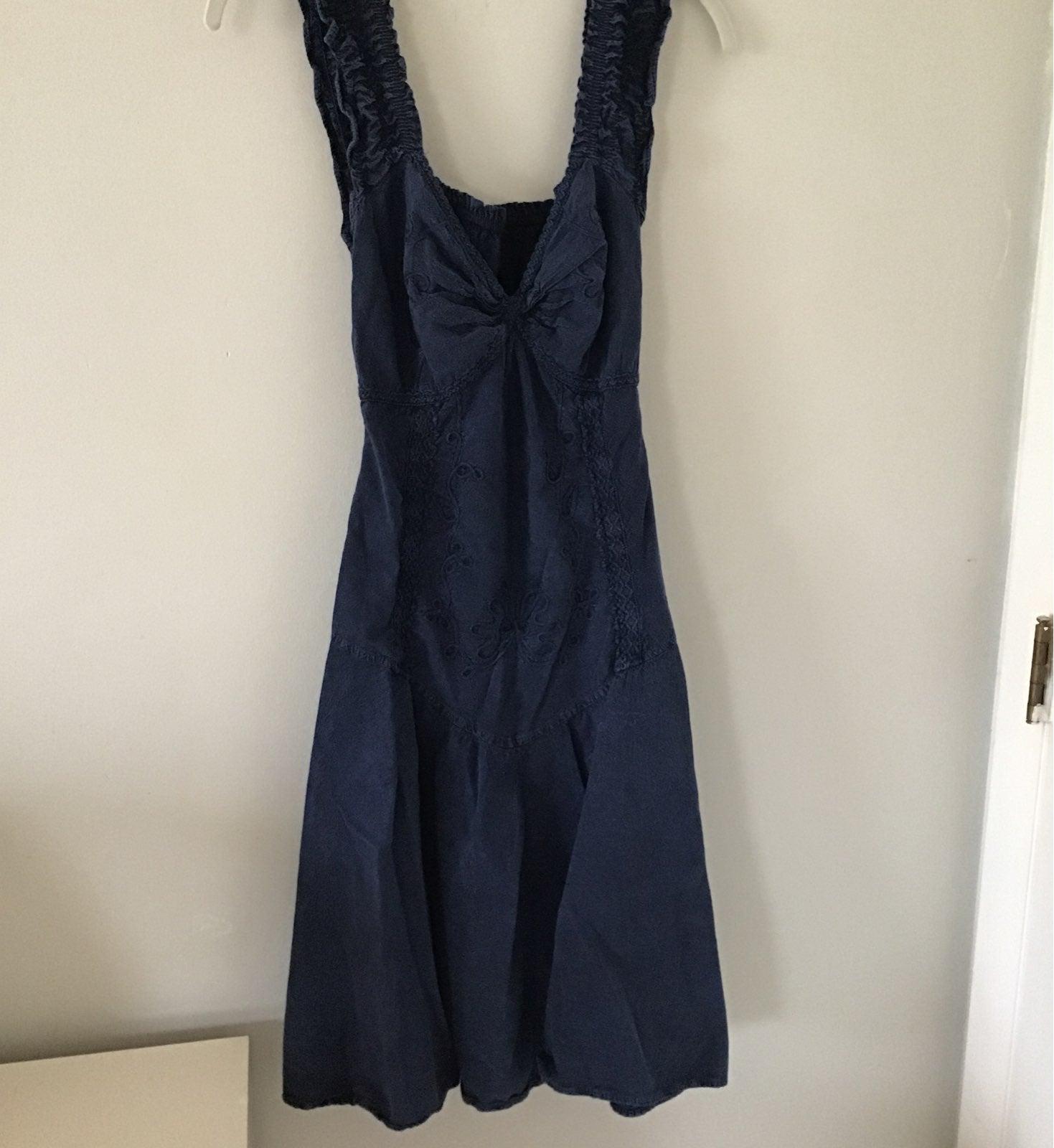 Jean Paul blue jean  dress
