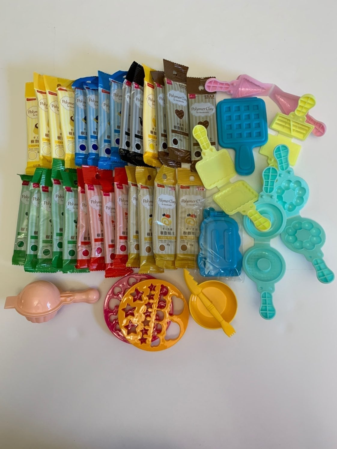 27 Packs of Daiso Polymer With Molds