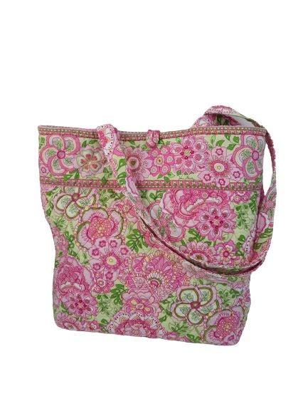 Vera Bradley petal pink tote retired bag