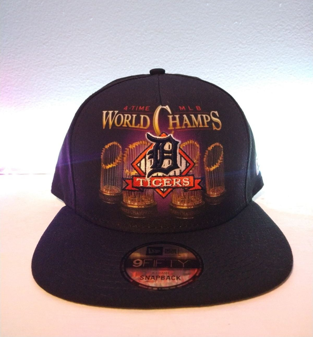 Detroit tigers world champions snapback
