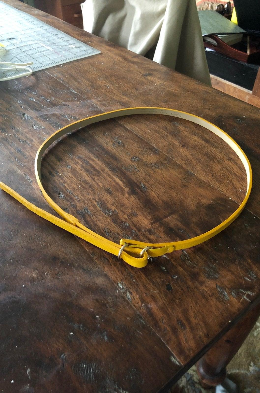 Talbots Yellow Belt
