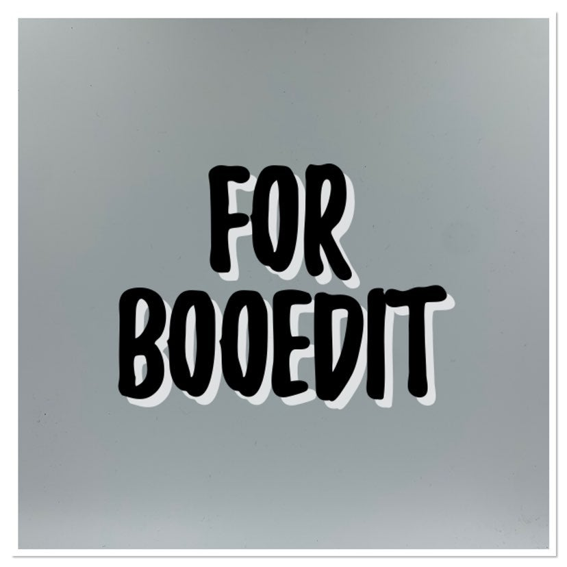 Special order for booedit
