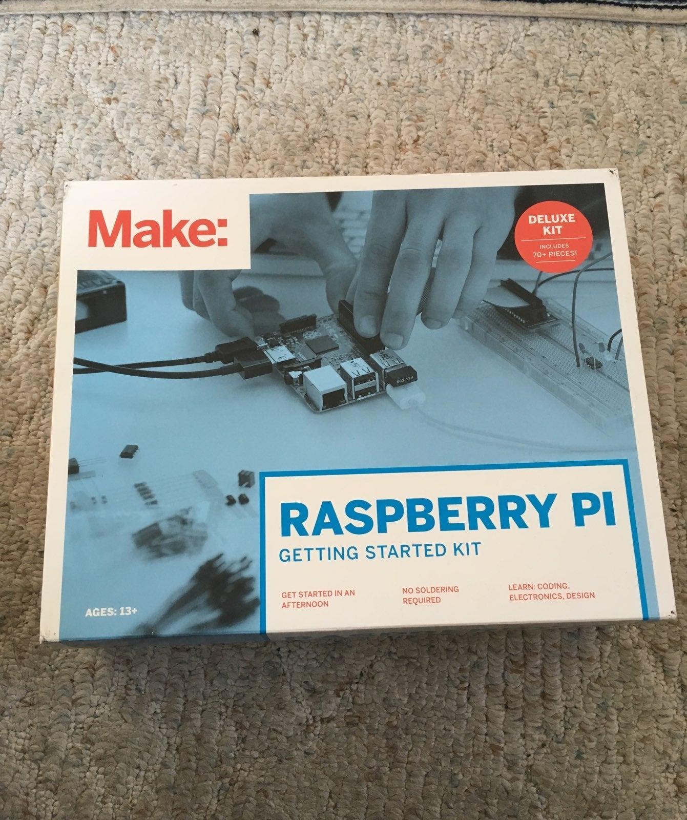 Make: Rasberry Pi Deluxe kit